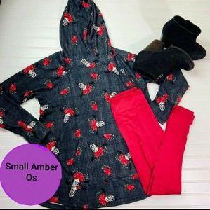 Lularoe S Amber Hoodie And Os Leggings New